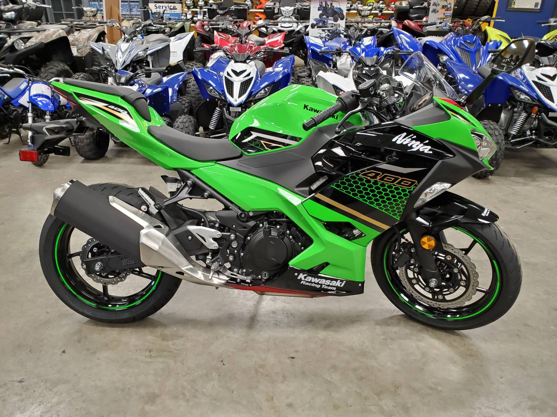 2020 Kawasaki Ninja 400 KRT Edition in Herrin, Illinois - Photo 3