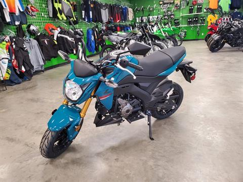 2021 Kawasaki Z125 Pro in Herrin, Illinois - Photo 2