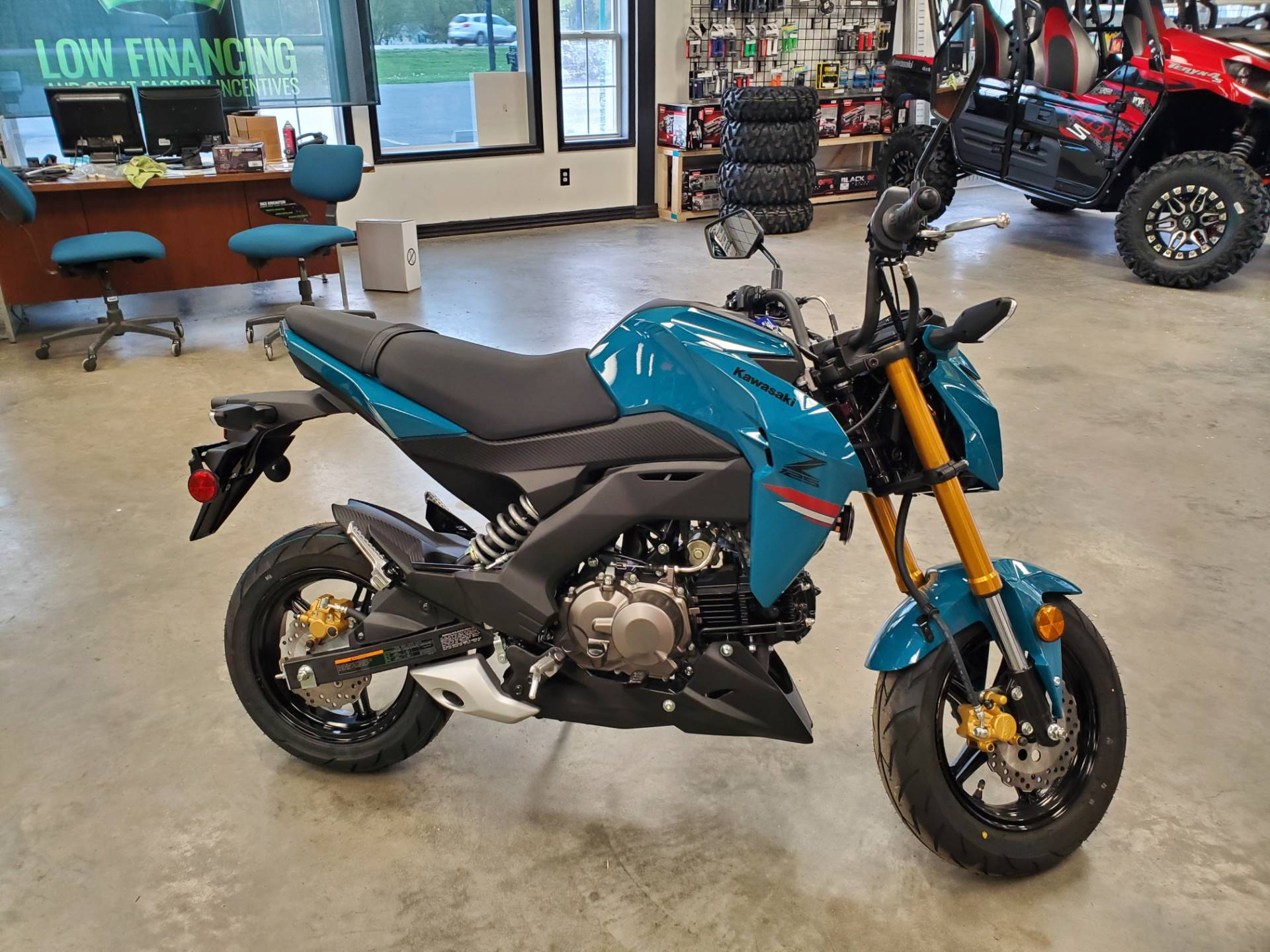 2021 Kawasaki Z125 Pro in Herrin, Illinois - Photo 3