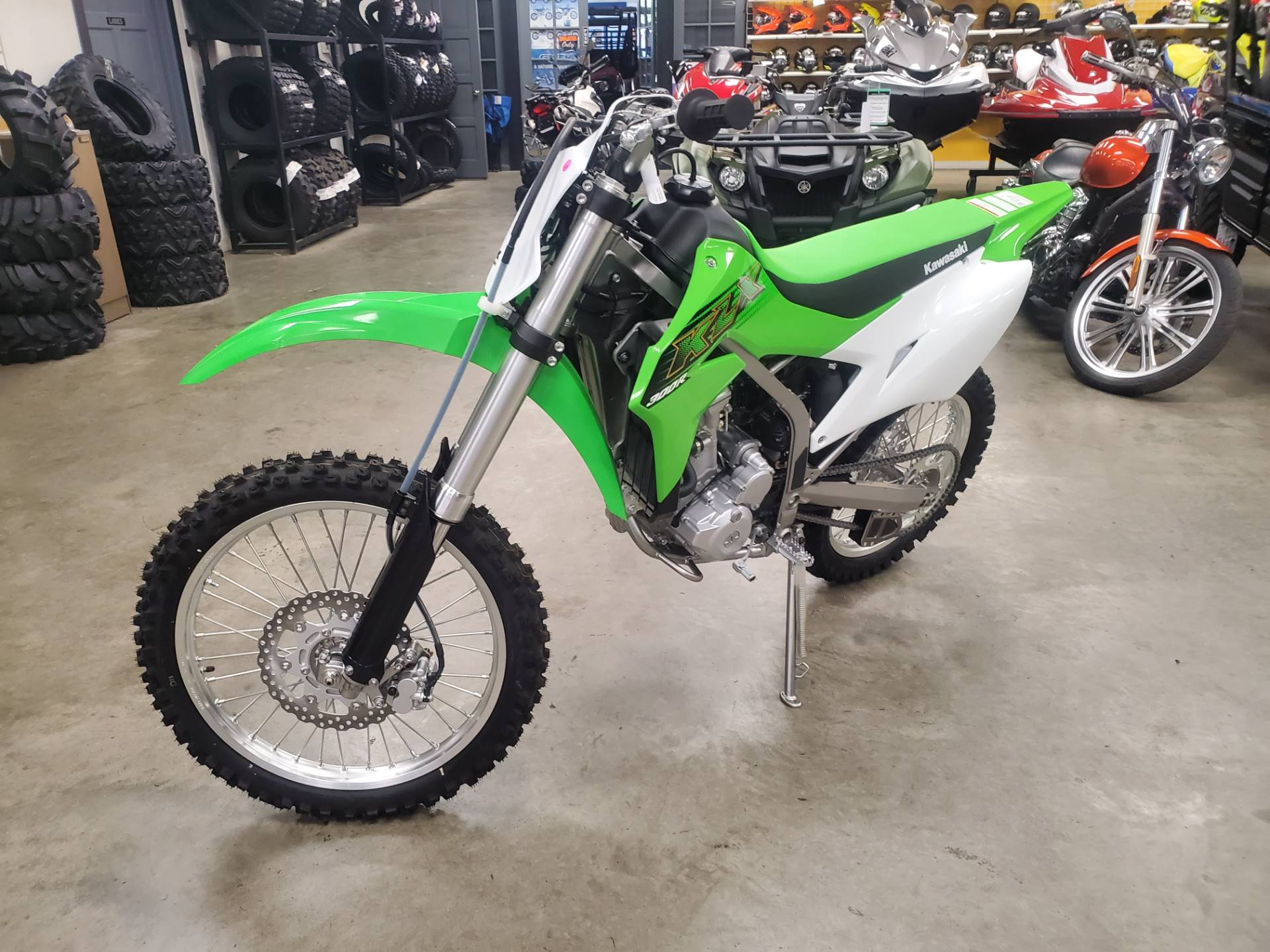 2020 Kawasaki KLX 300R in Herrin, Illinois - Photo 2