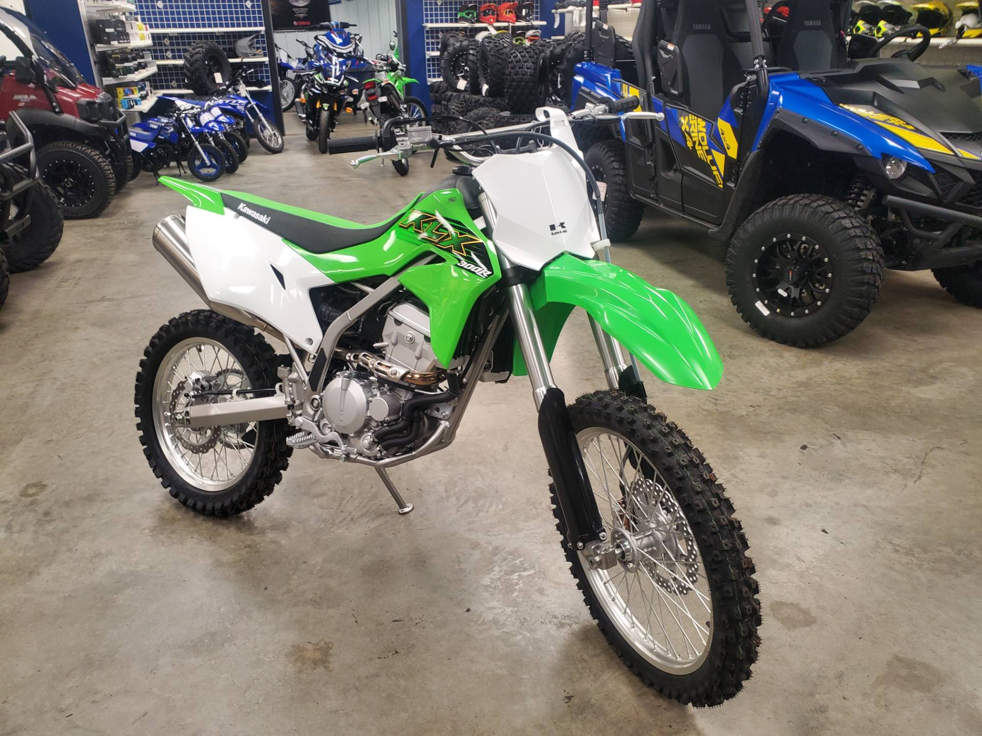 2020 Kawasaki KLX 300R in Herrin, Illinois - Photo 3