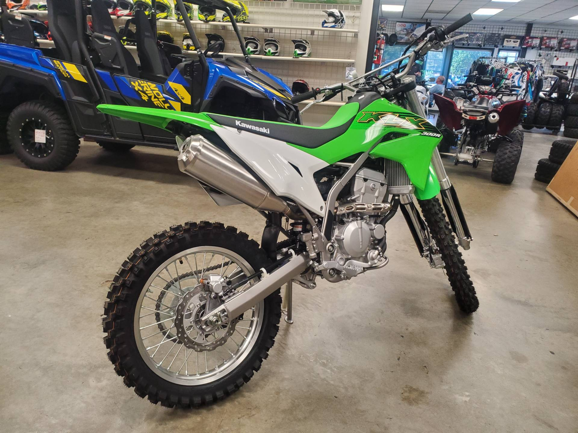 2020 Kawasaki KLX 300R in Herrin, Illinois - Photo 7