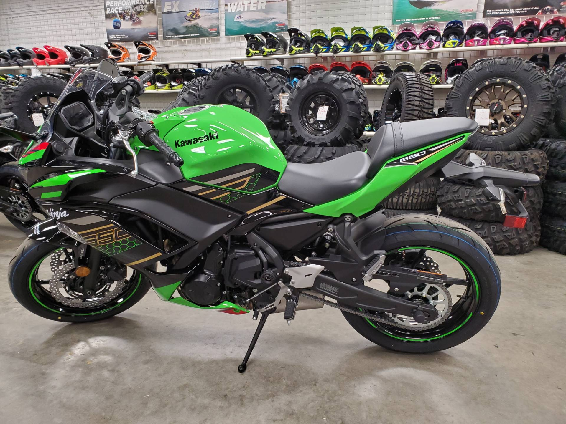 2020 Kawasaki Ninja 650 ABS KRT Edition in Herrin, Illinois - Photo 4