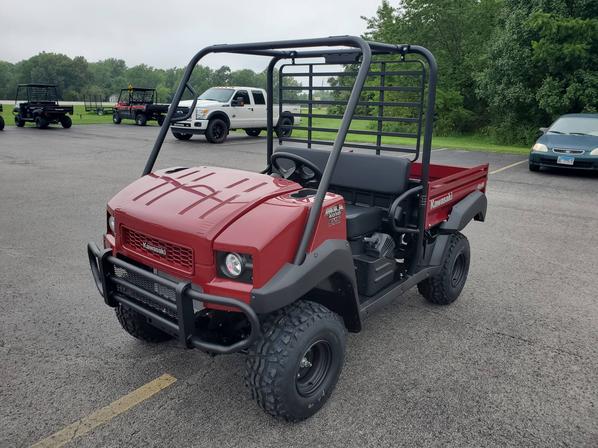 2021 Kawasaki Mule 4010 Trans4x4 in Herrin, Illinois - Photo 2