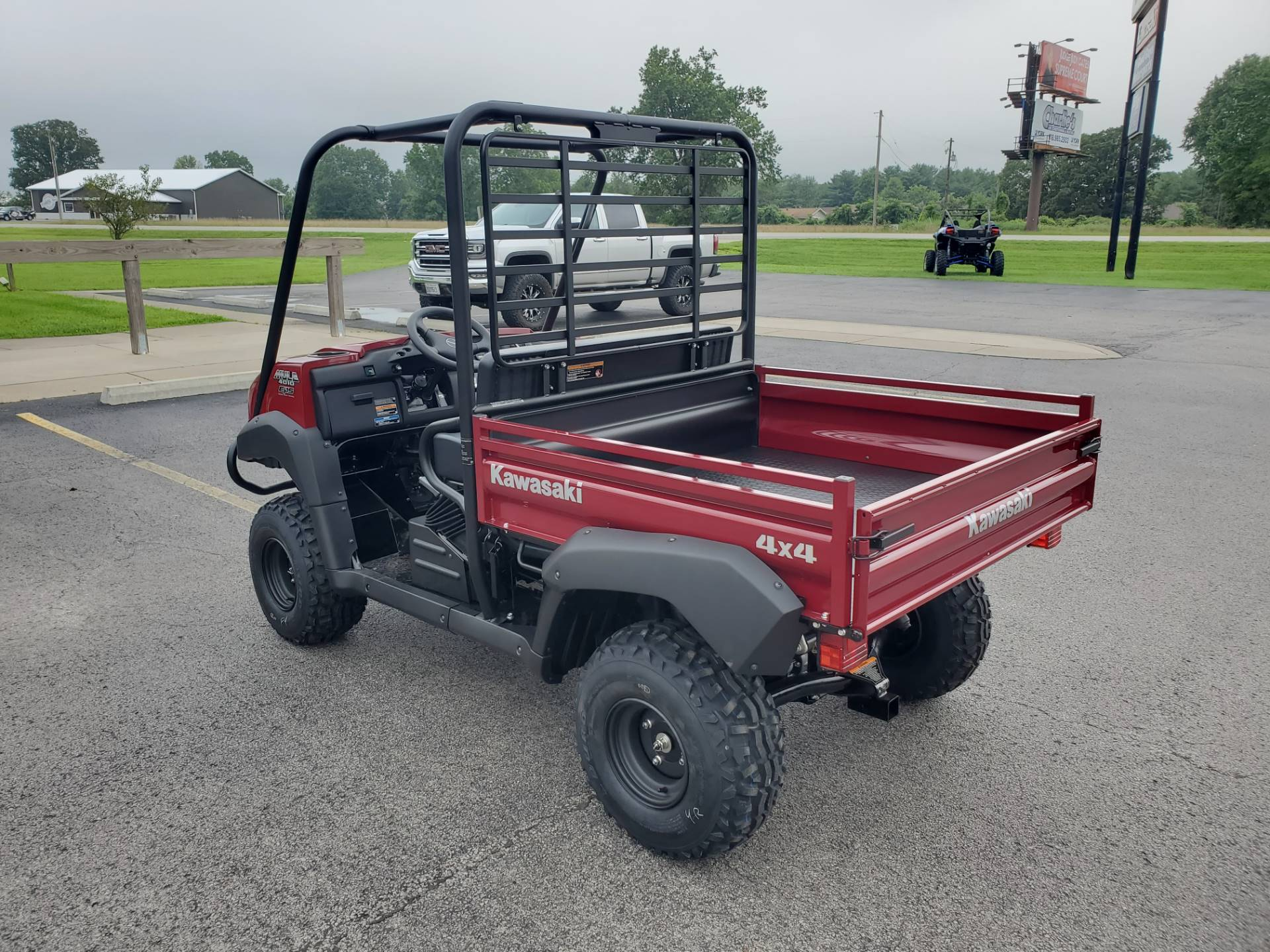 2021 Kawasaki Mule 4010 Trans4x4 in Herrin, Illinois - Photo 10