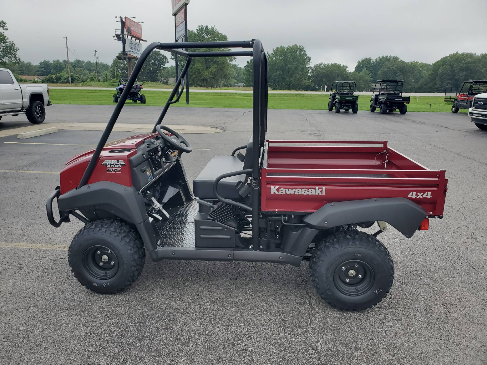 2021 Kawasaki Mule 4010 Trans4x4 in Herrin, Illinois - Photo 4