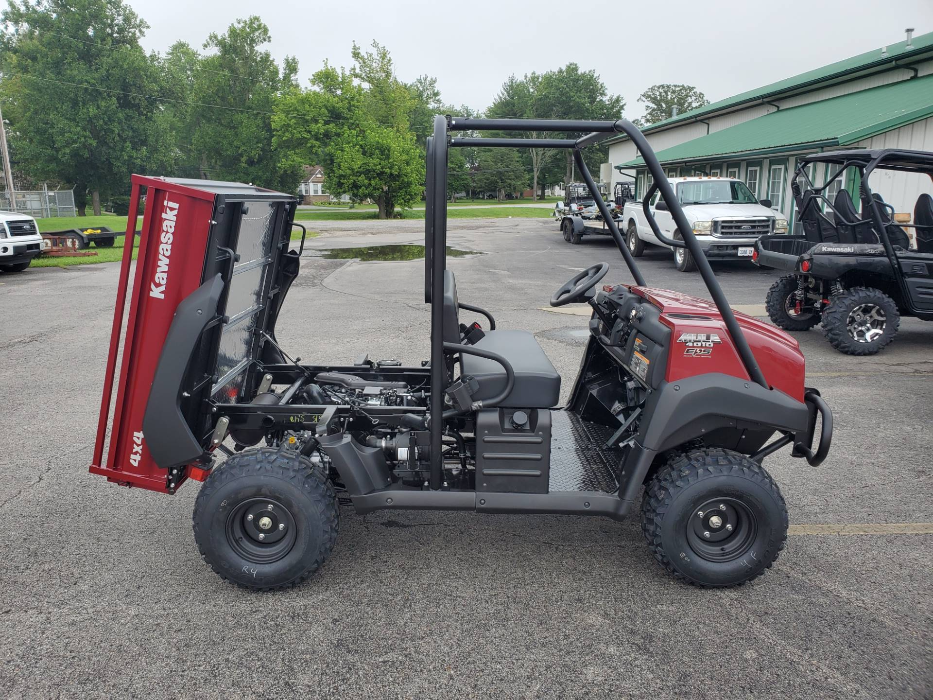 2021 Kawasaki Mule 4010 Trans4x4 in Herrin, Illinois - Photo 5