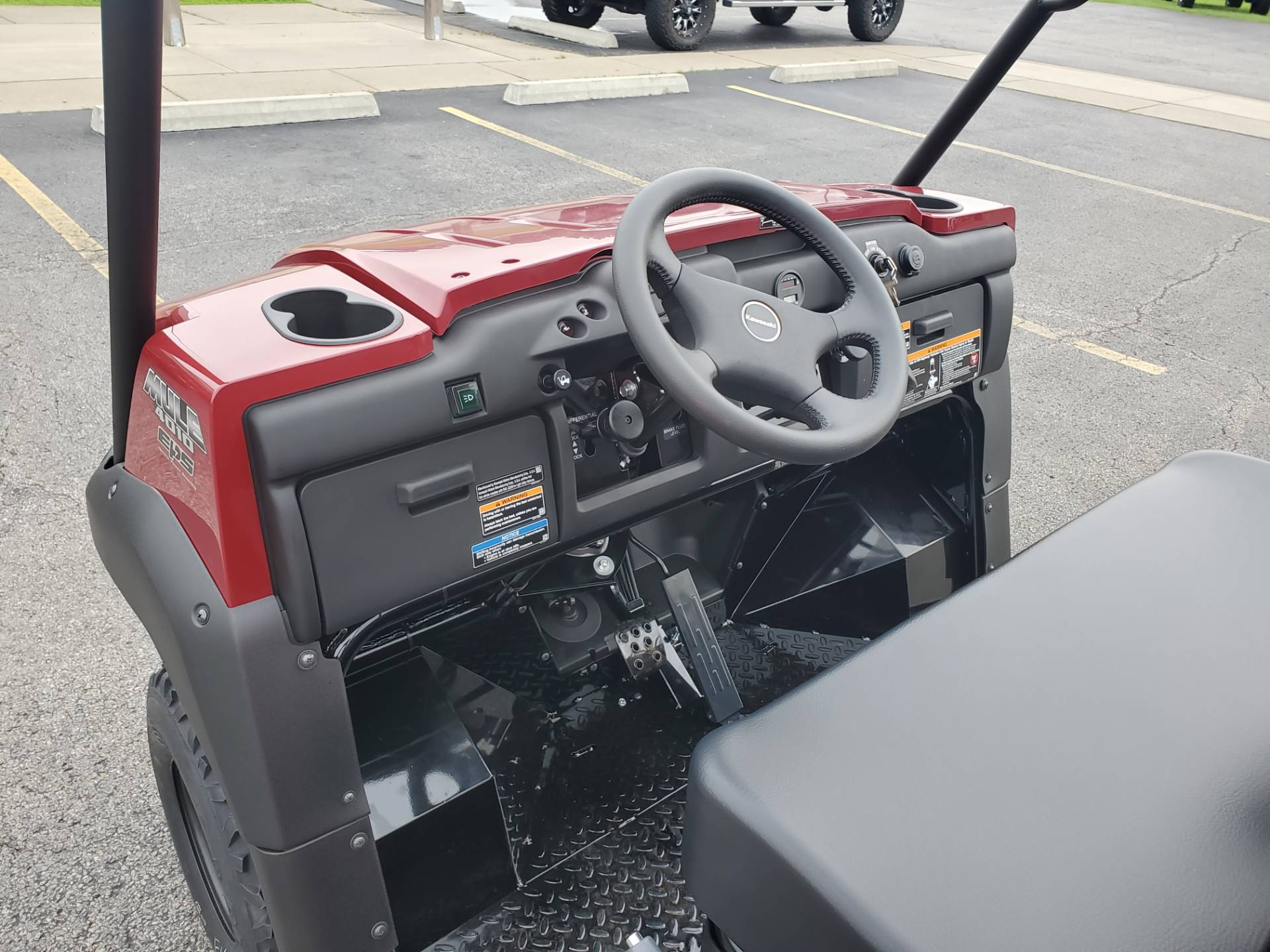 2021 Kawasaki Mule 4010 Trans4x4 in Herrin, Illinois - Photo 14