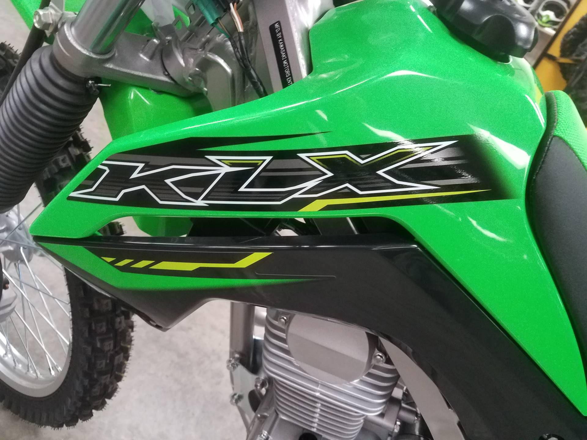 2020 Kawasaki KLX 140G in Herrin, Illinois - Photo 7
