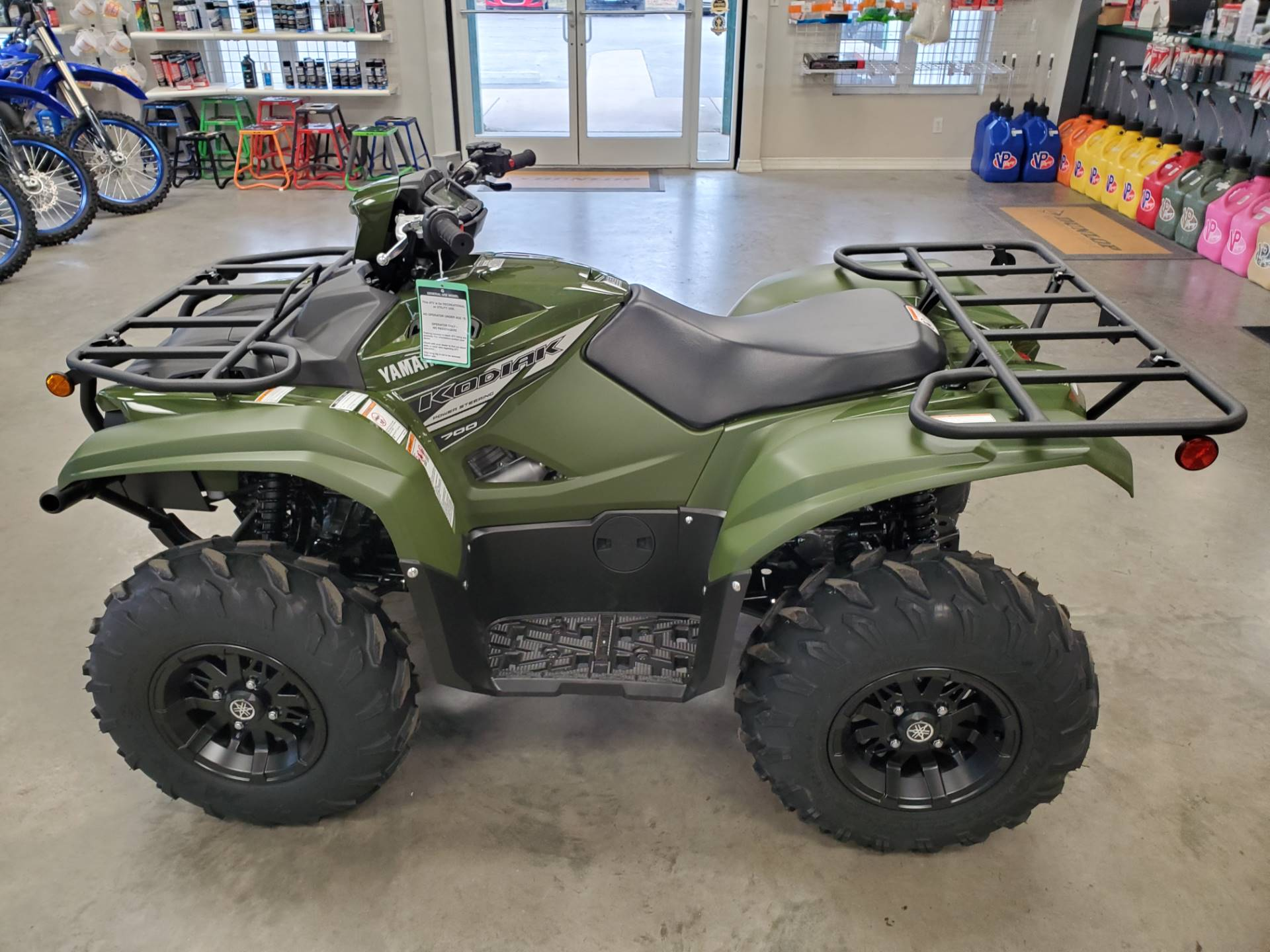 2021 Yamaha Kodiak 700 EPS in Herrin, Illinois - Photo 8