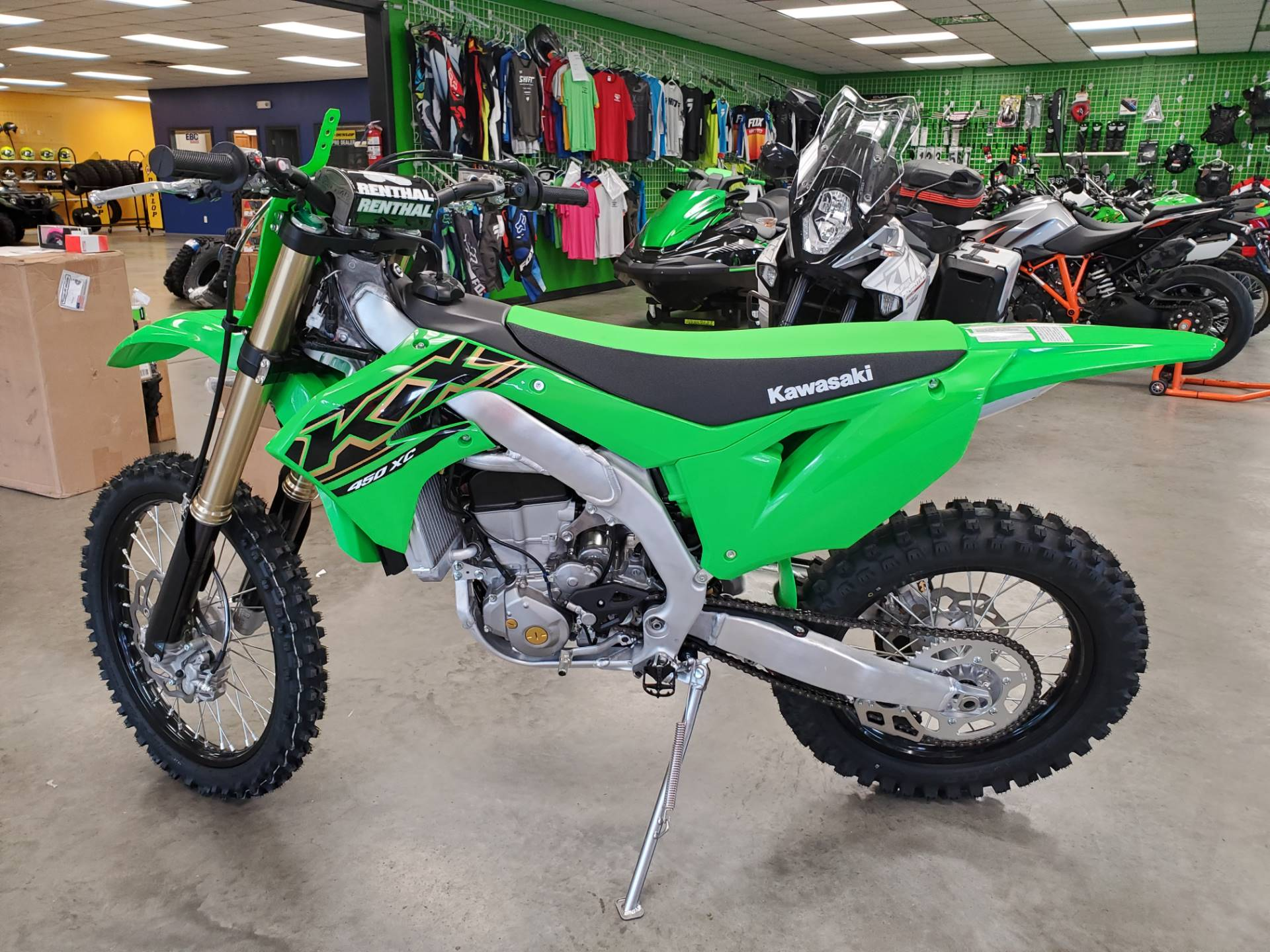 2021 Kawasaki KX 450XC in Herrin, Illinois - Photo 4
