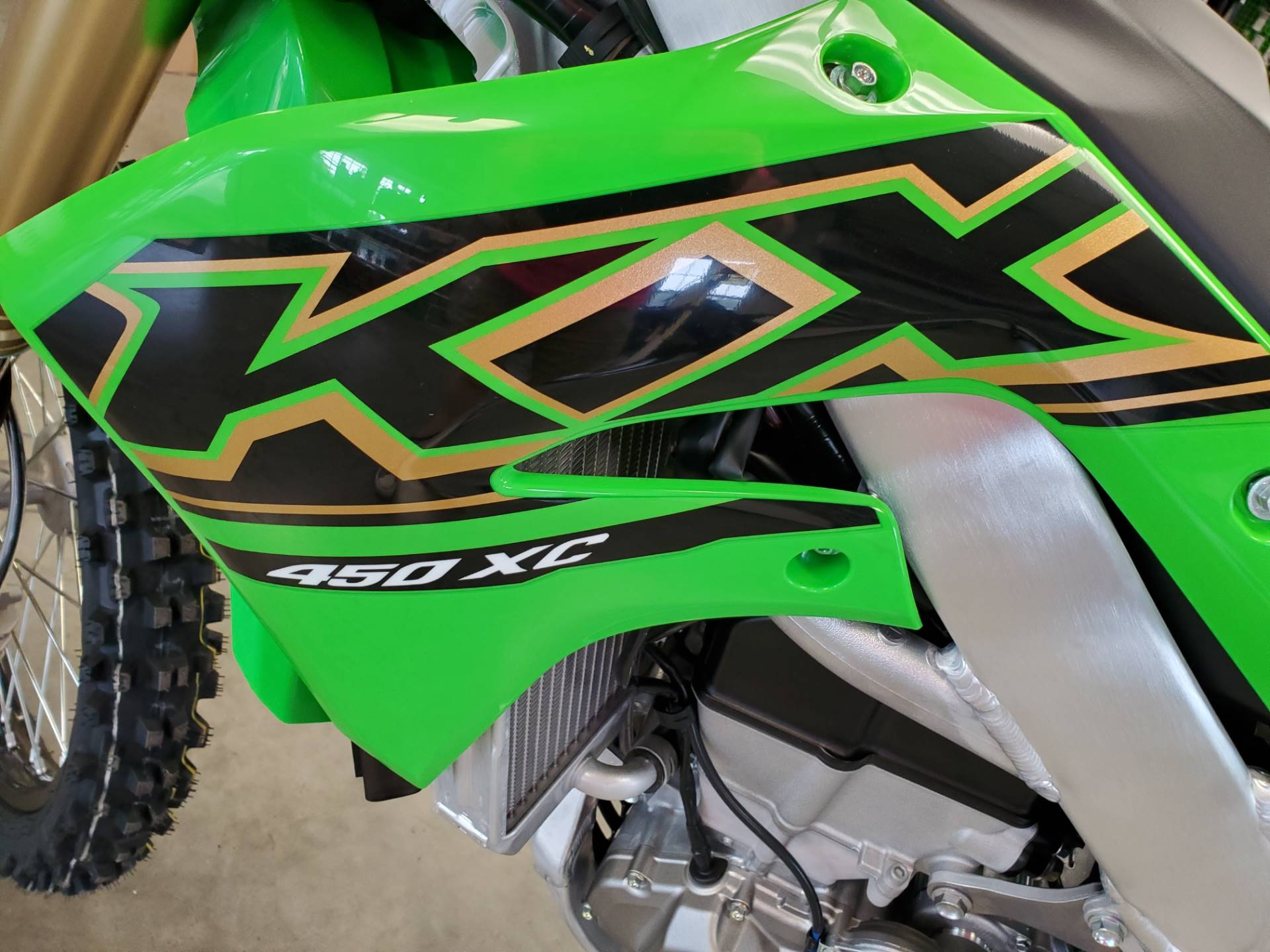 2021 Kawasaki KX 450XC in Herrin, Illinois - Photo 13