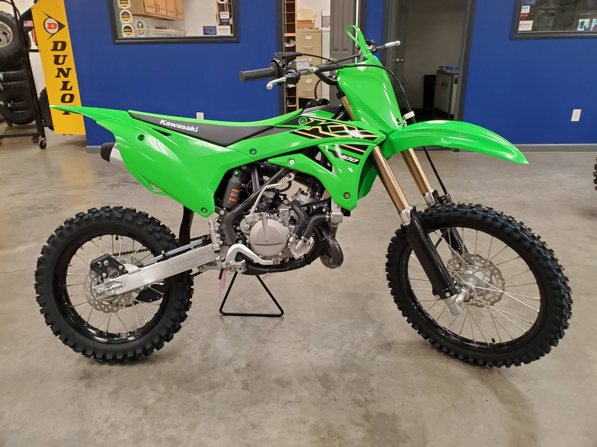 2021 Kawasaki KX 100 in Herrin, Illinois - Photo 4