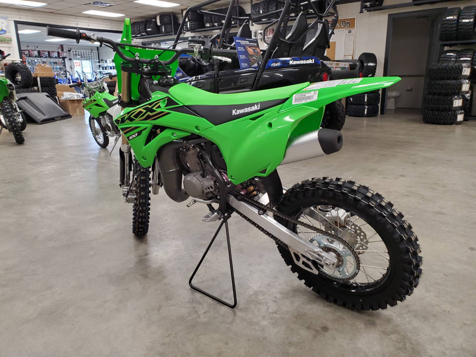 2021 Kawasaki KX 100 in Herrin, Illinois - Photo 5