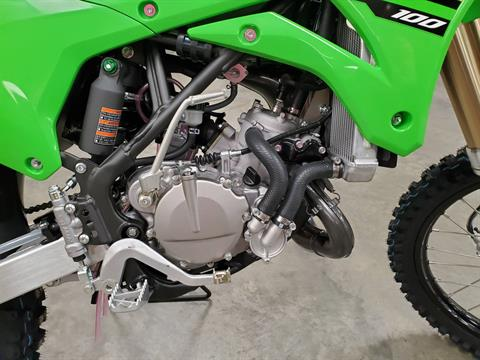 2021 Kawasaki KX 100 in Herrin, Illinois - Photo 7