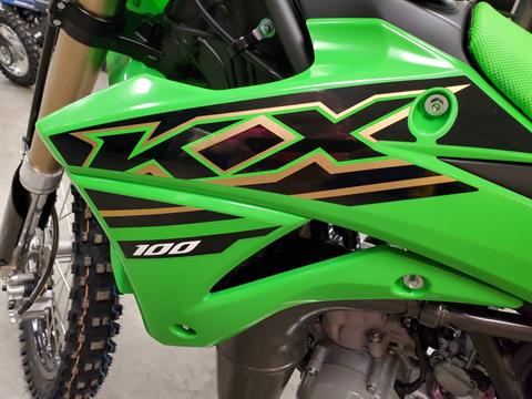 2021 Kawasaki KX 100 in Herrin, Illinois - Photo 11