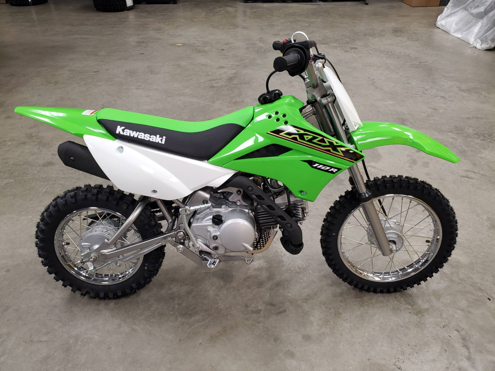 2021 Kawasaki KLX 110R in Herrin, Illinois - Photo 2