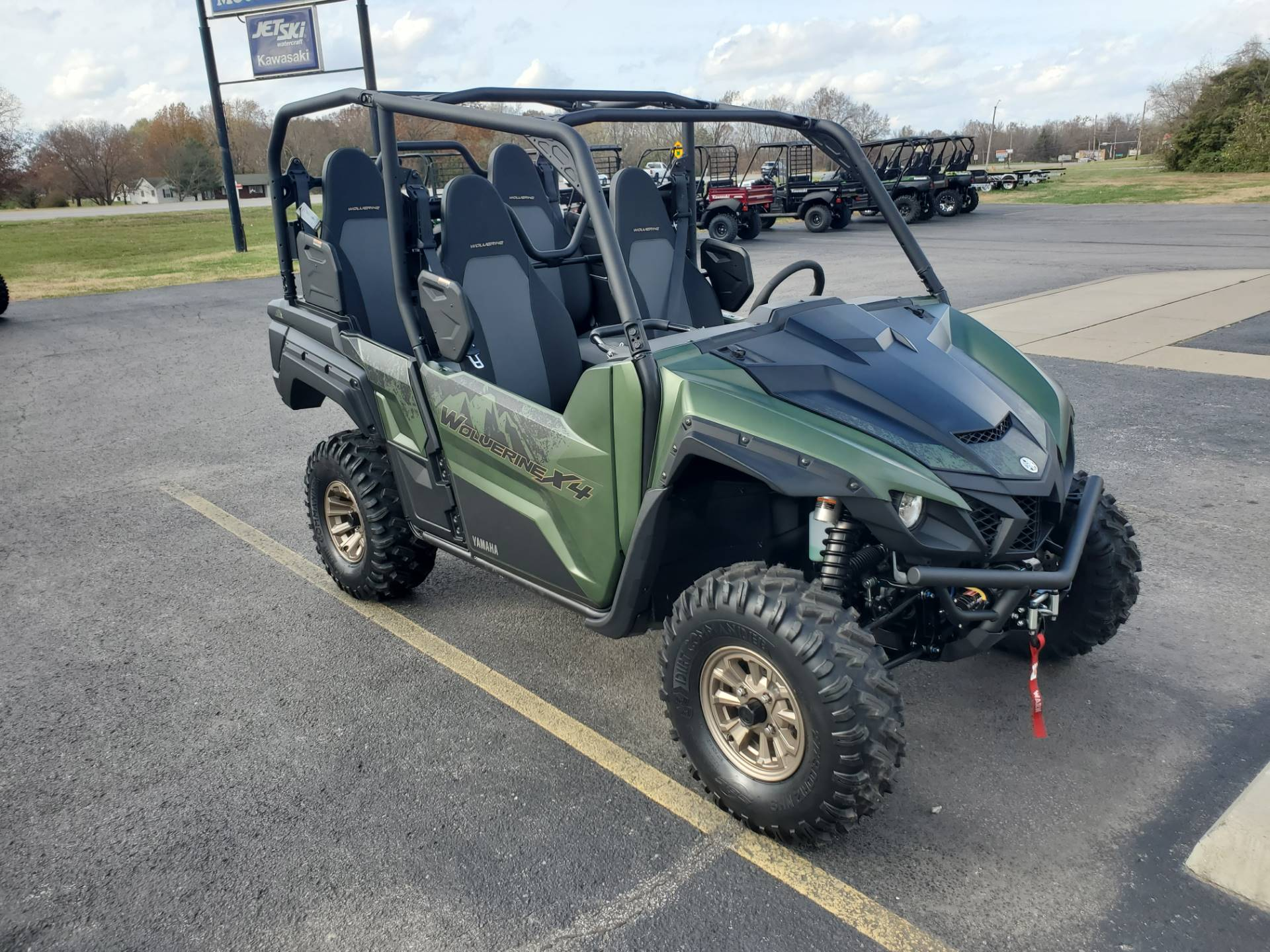 2021 Yamaha Wolverine X4 XT-R 850 in Herrin, Illinois - Photo 3
