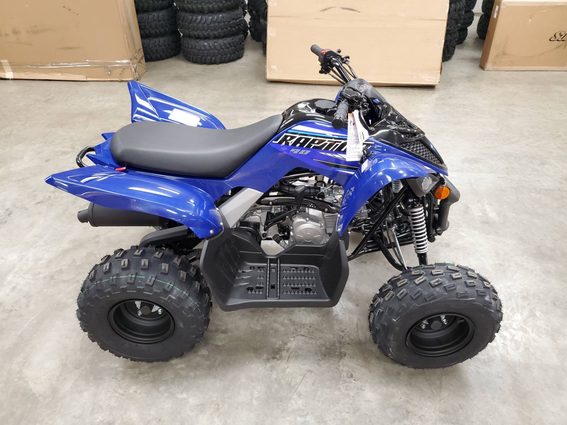 2021 Yamaha Raptor 90 in Herrin, Illinois - Photo 4