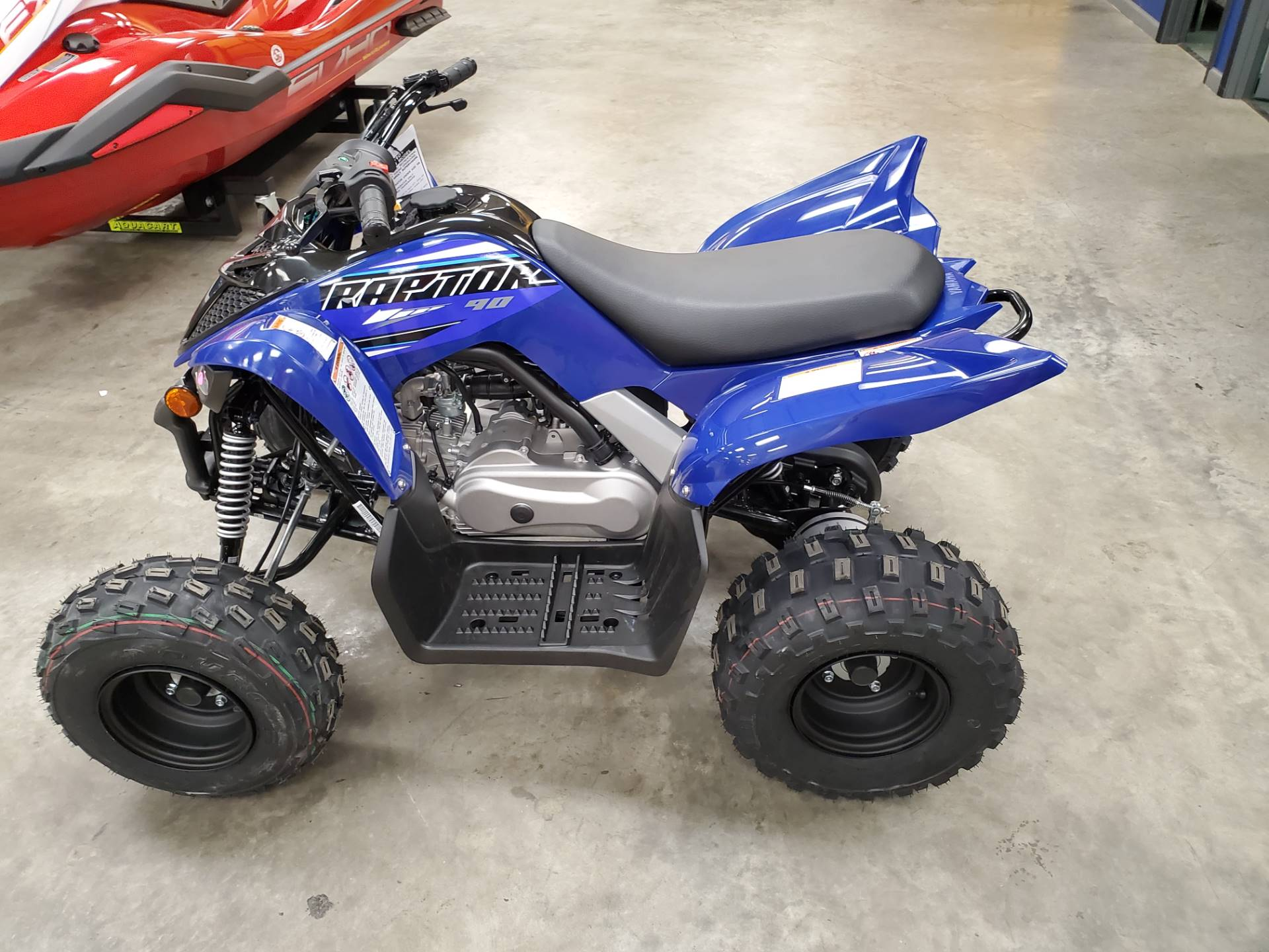 2021 Yamaha Raptor 90 in Herrin, Illinois - Photo 8