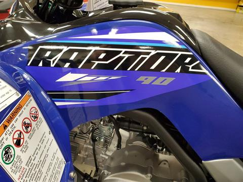2021 Yamaha Raptor 90 in Herrin, Illinois - Photo 9