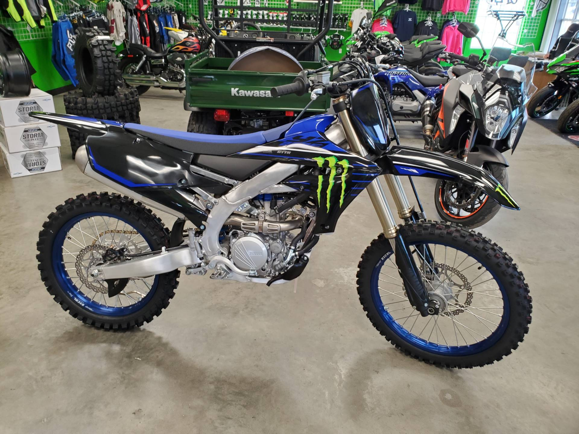 2021 Yamaha YZ250F Monster Energy Yamaha Racing Edition in Herrin, Illinois - Photo 3