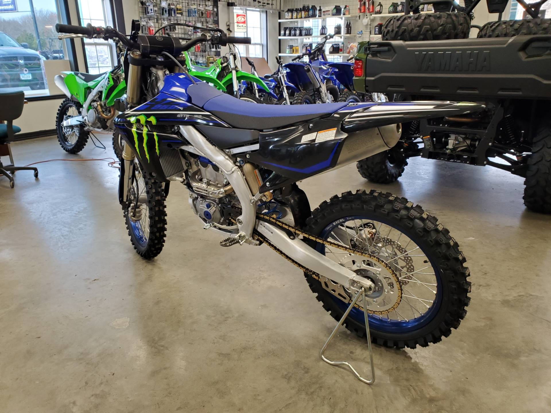 2021 Yamaha YZ250F Monster Energy Yamaha Racing Edition in Herrin, Illinois - Photo 6