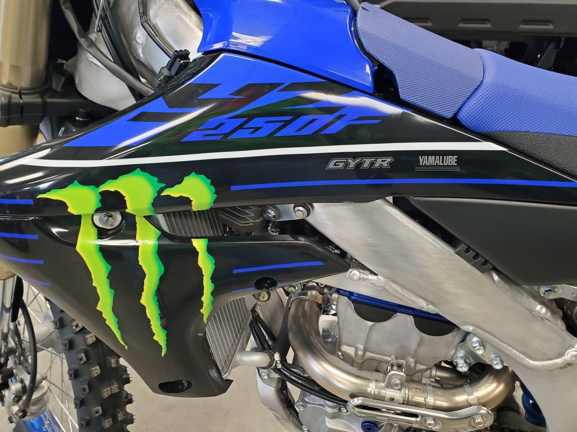 2021 Yamaha YZ250F Monster Energy Yamaha Racing Edition in Herrin, Illinois - Photo 12
