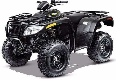 2018 Arctic Cat ALTERRA VLX 700 EPS BLACK in Portersville, Pennsylvania