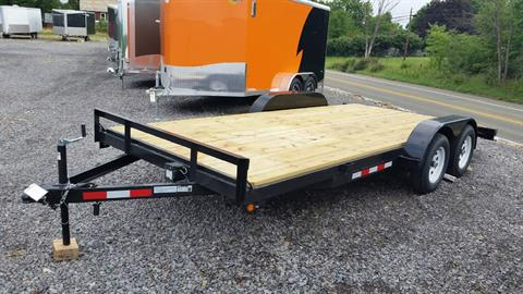 2017 Other TWF MFG 18' UTILITY w/RAMPS in Portersville, Pennsylvania