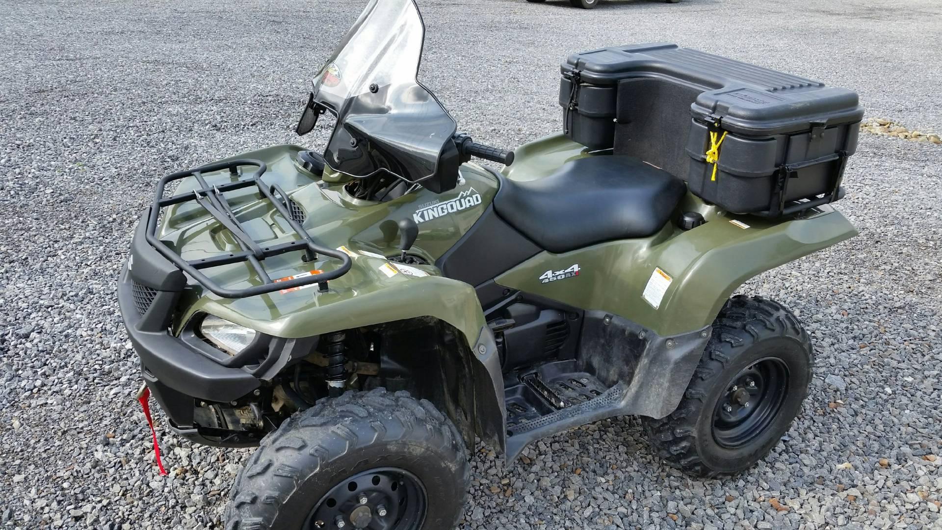 2008 Suzuki KingQuad® 450AXi 4x4 in Portersville, Pennsylvania