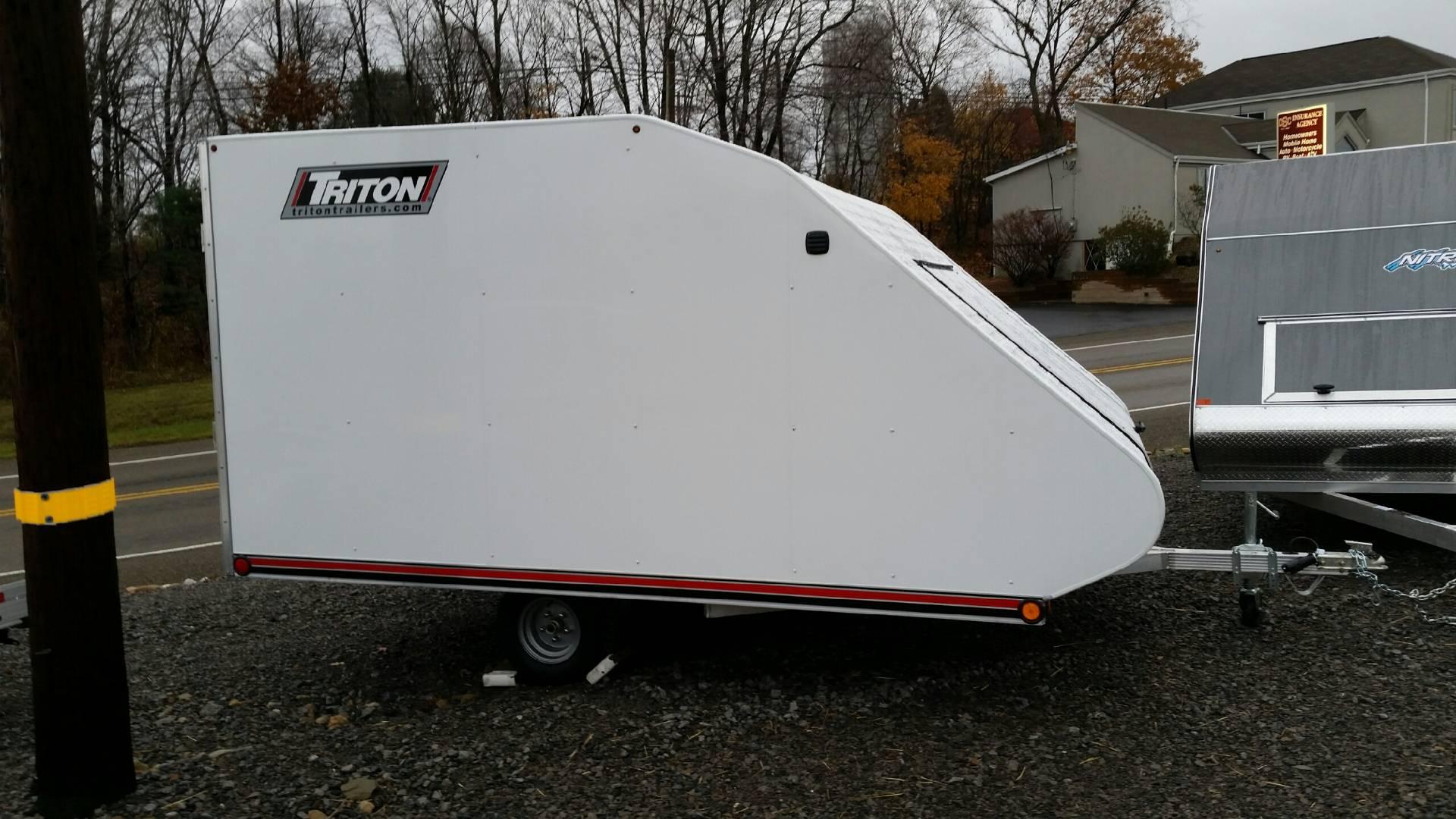 2017 Triton Trailers TC118 in Portersville, Pennsylvania