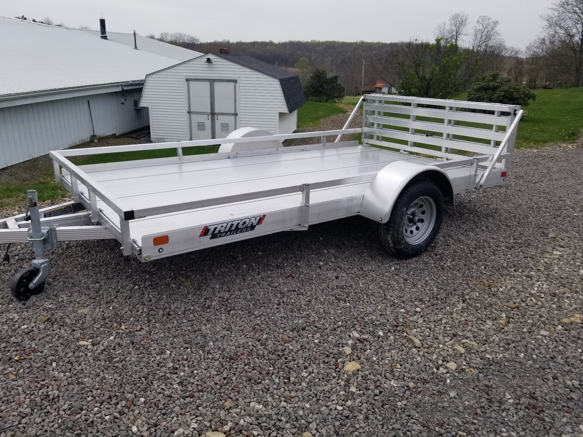 2021 Triton Trailers FIT 1281 in Portersville, Pennsylvania - Photo 1