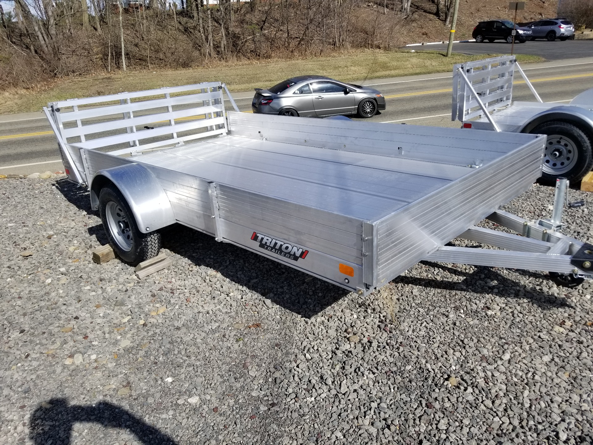 2021 Triton Trailers FIT 1281 in Portersville, Pennsylvania