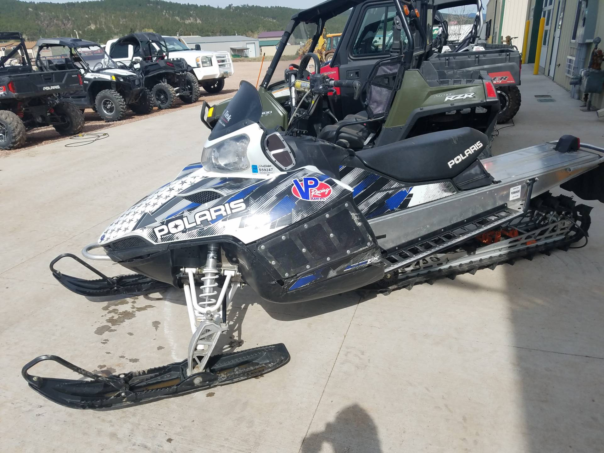 2009 Polaris 800 Dragon RMK 163 in Rapid City, South Dakota