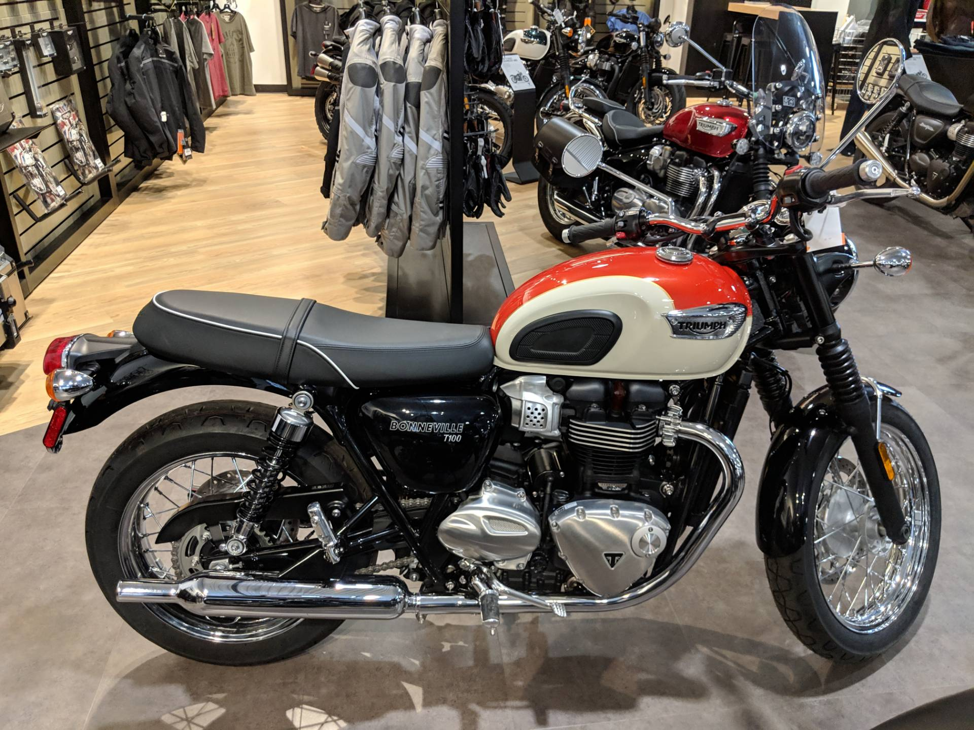 2018 Triumph Bonneville T100 for sale 1379