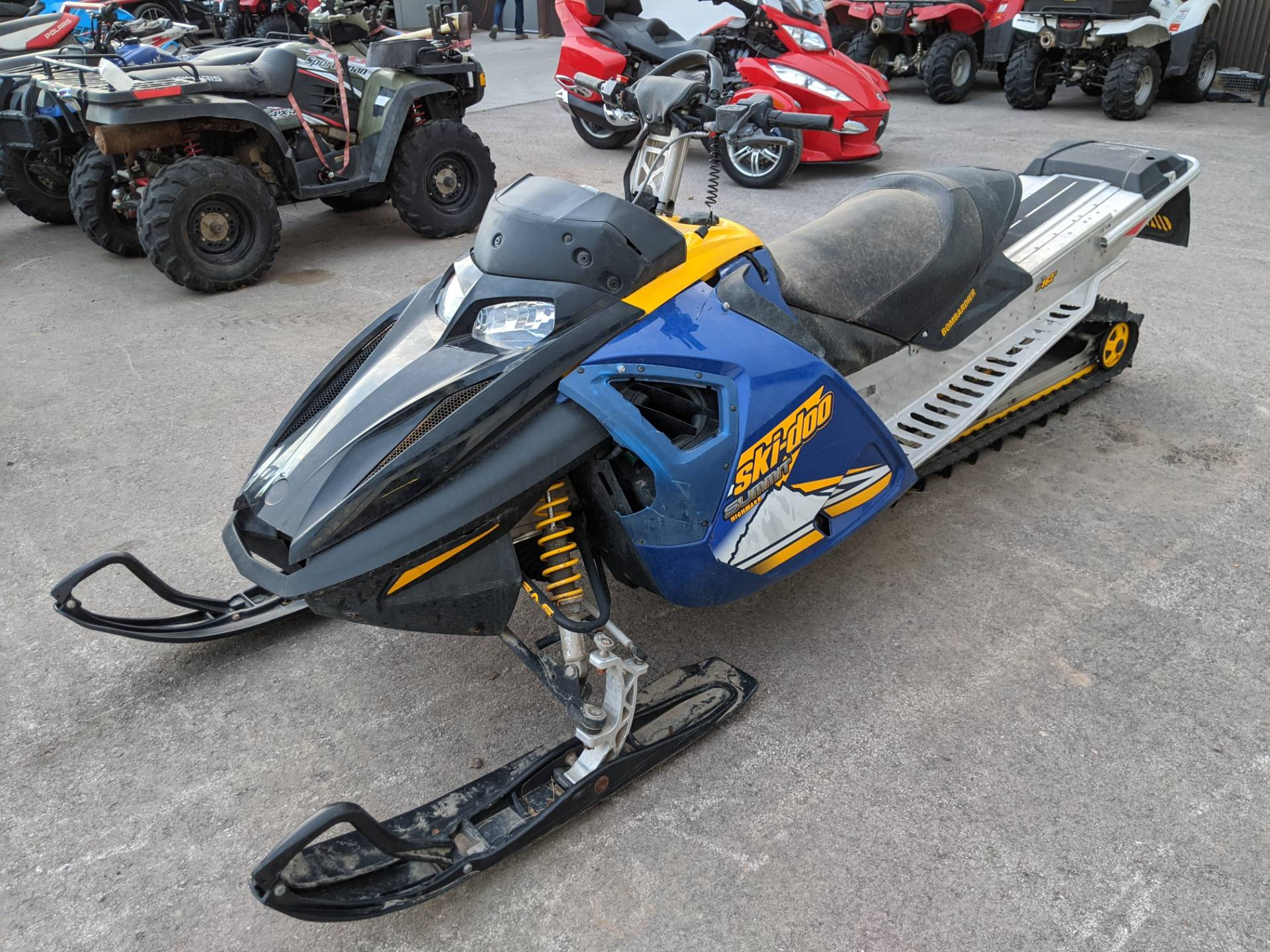 2005 Ski-Doo Summit Highmark 1000 X in Rapid City, South Dakota - Photo 1