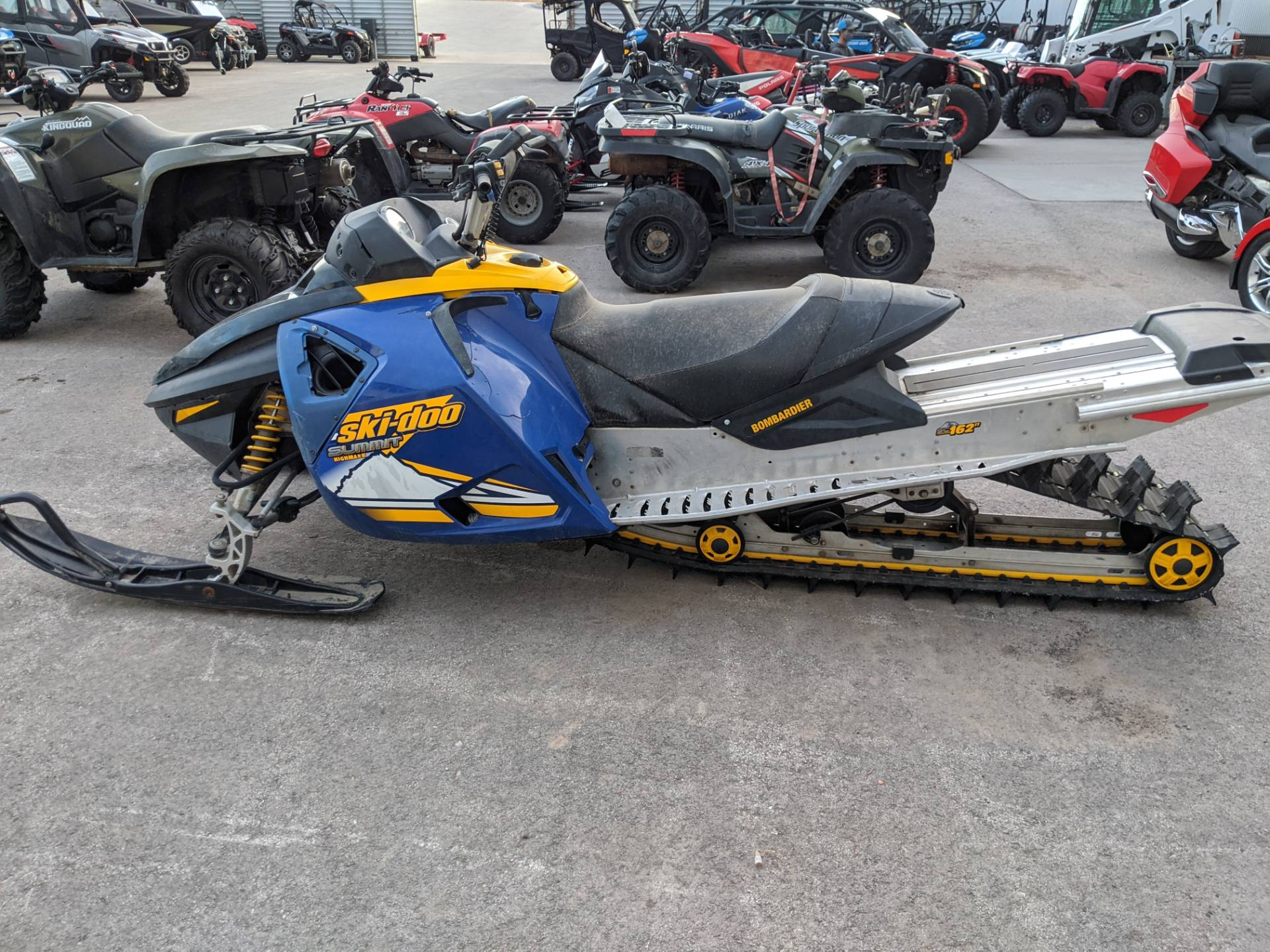 2005 Ski-Doo Summit Highmark 1000 X in Rapid City, South Dakota - Photo 5