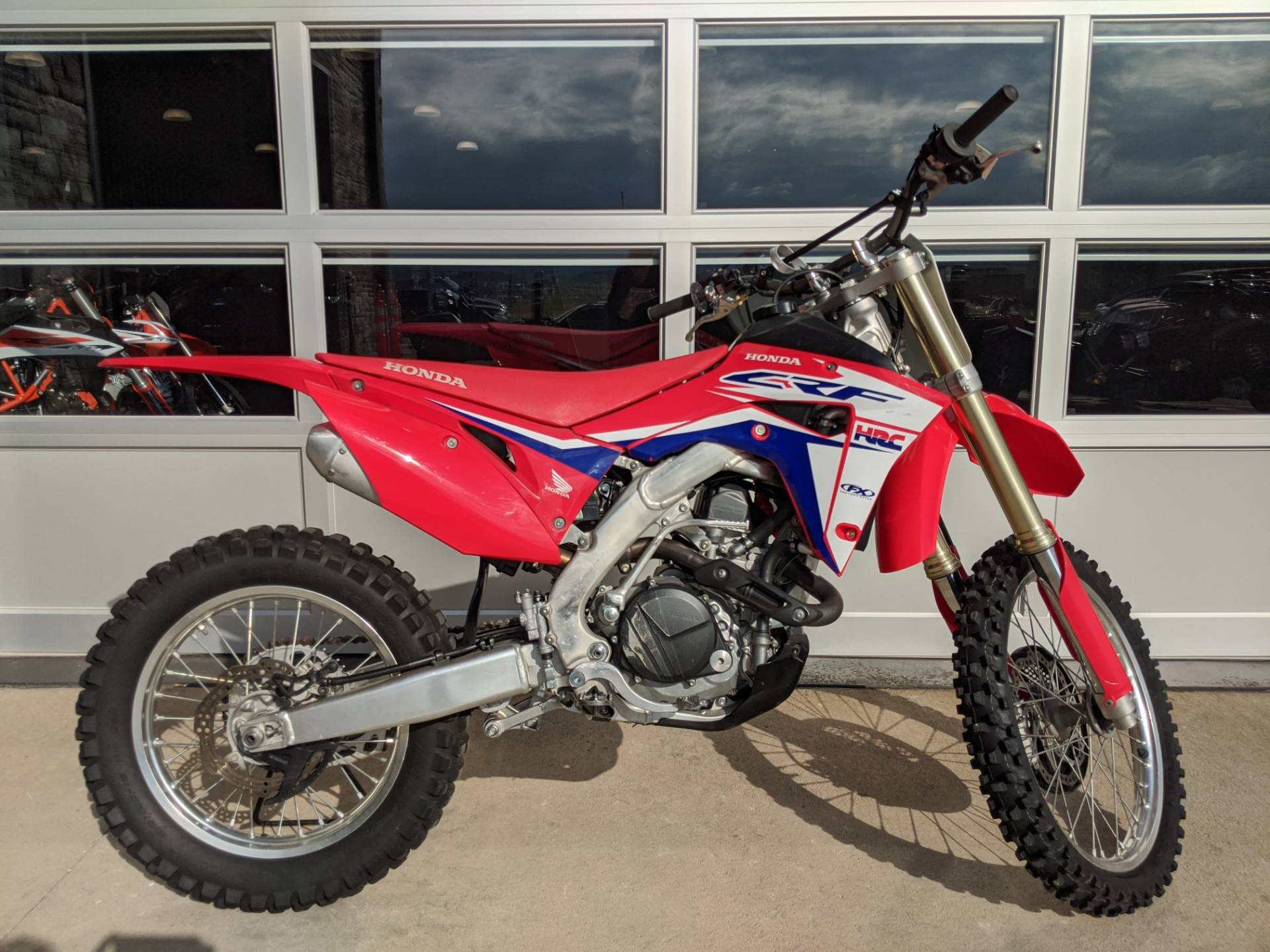 2017 Honda CRF450RX in Rapid City, South Dakota - Photo 1