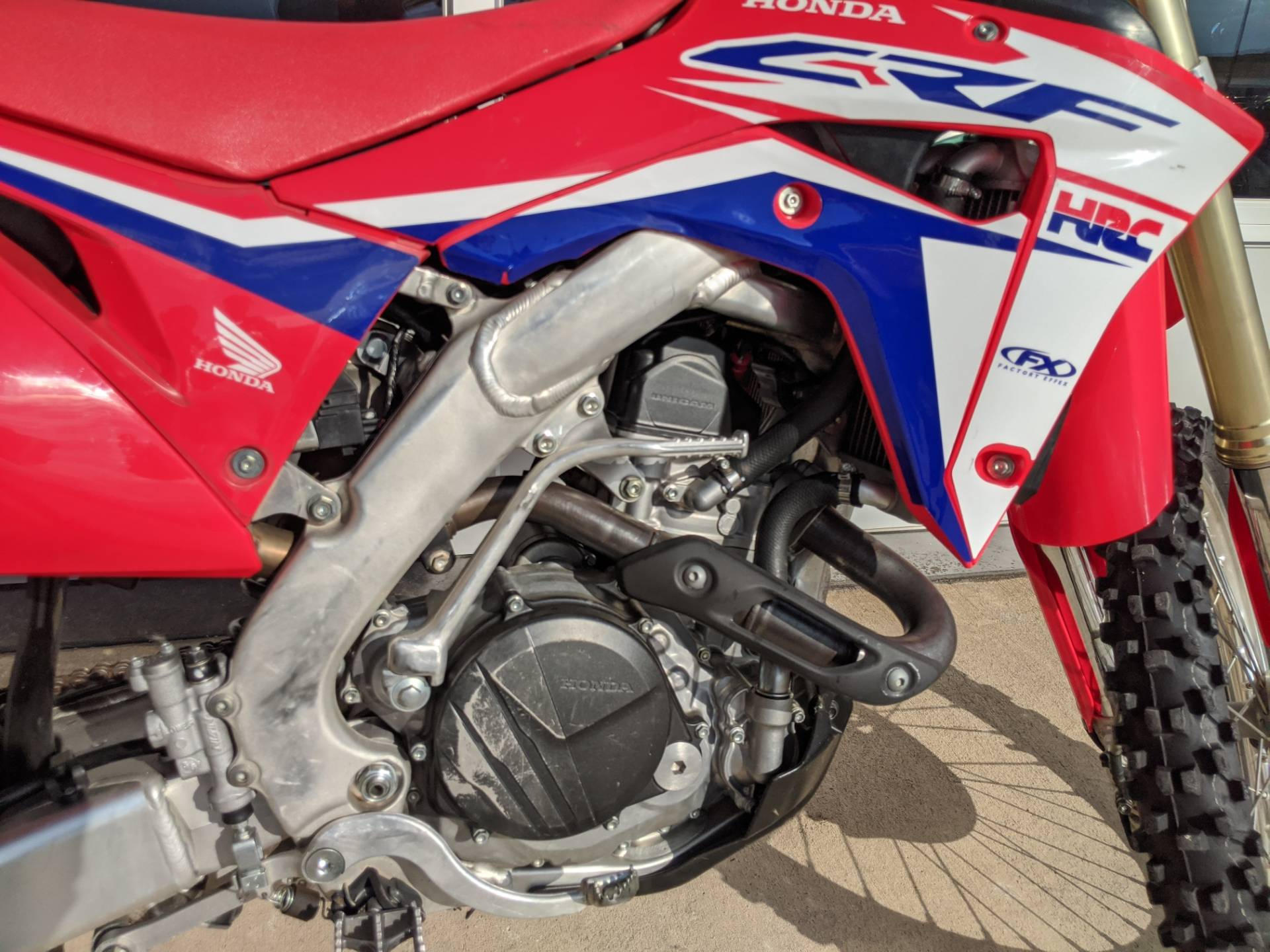 2017 Honda CRF450RX in Rapid City, South Dakota - Photo 9