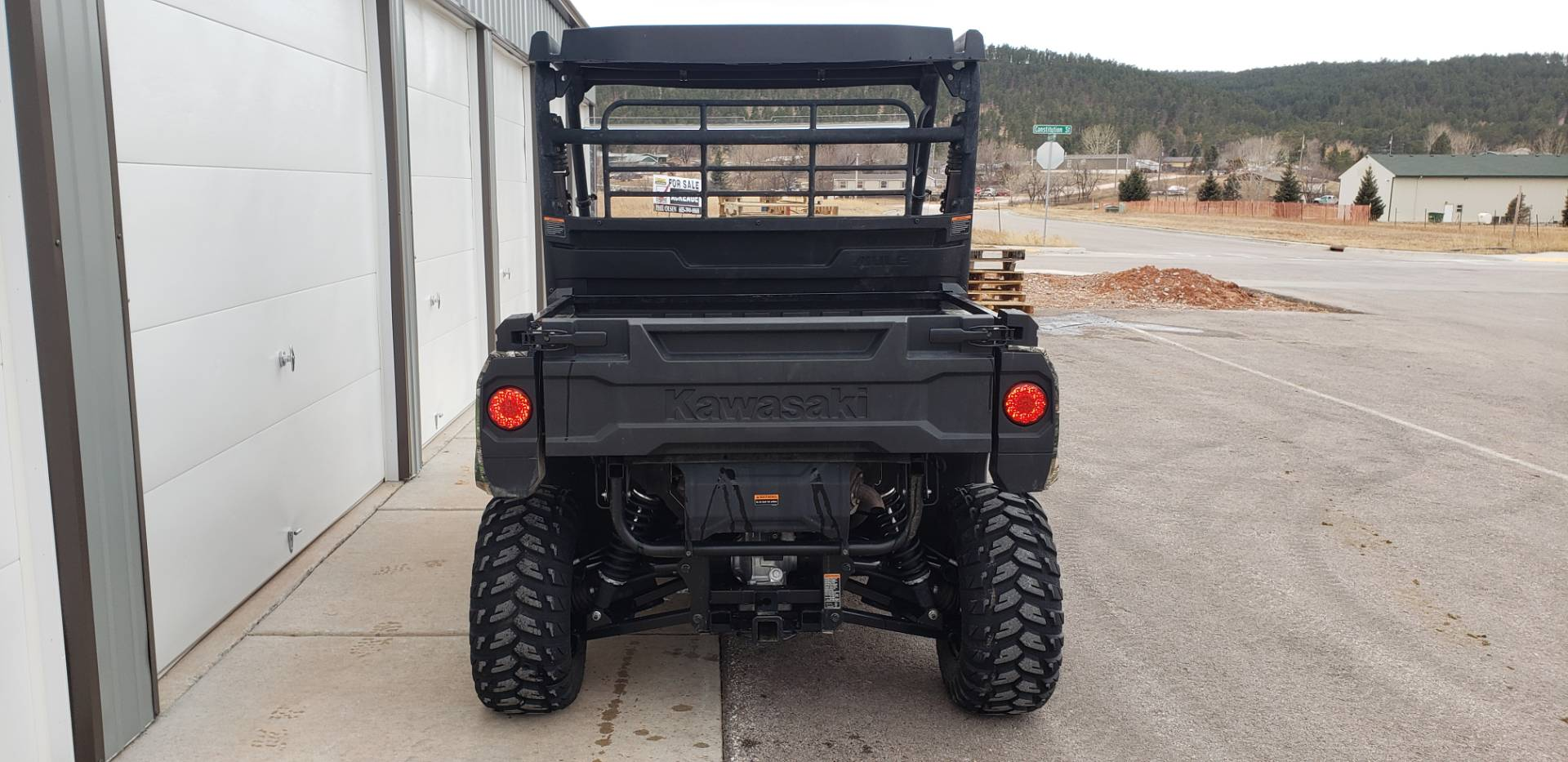 2019 Kawasaki Mule PRO-MX EPS Camo in Rapid City, South Dakota - Photo 4