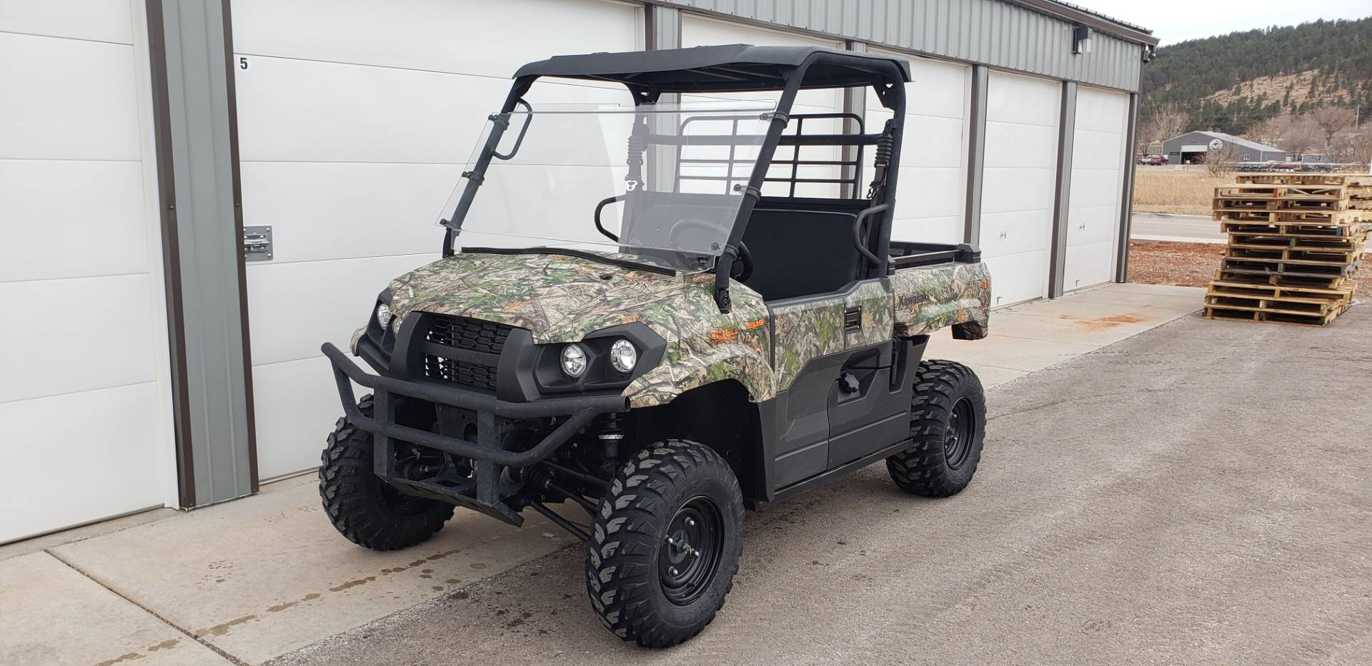 2019 Kawasaki Mule PRO-MX EPS Camo in Rapid City, South Dakota - Photo 7