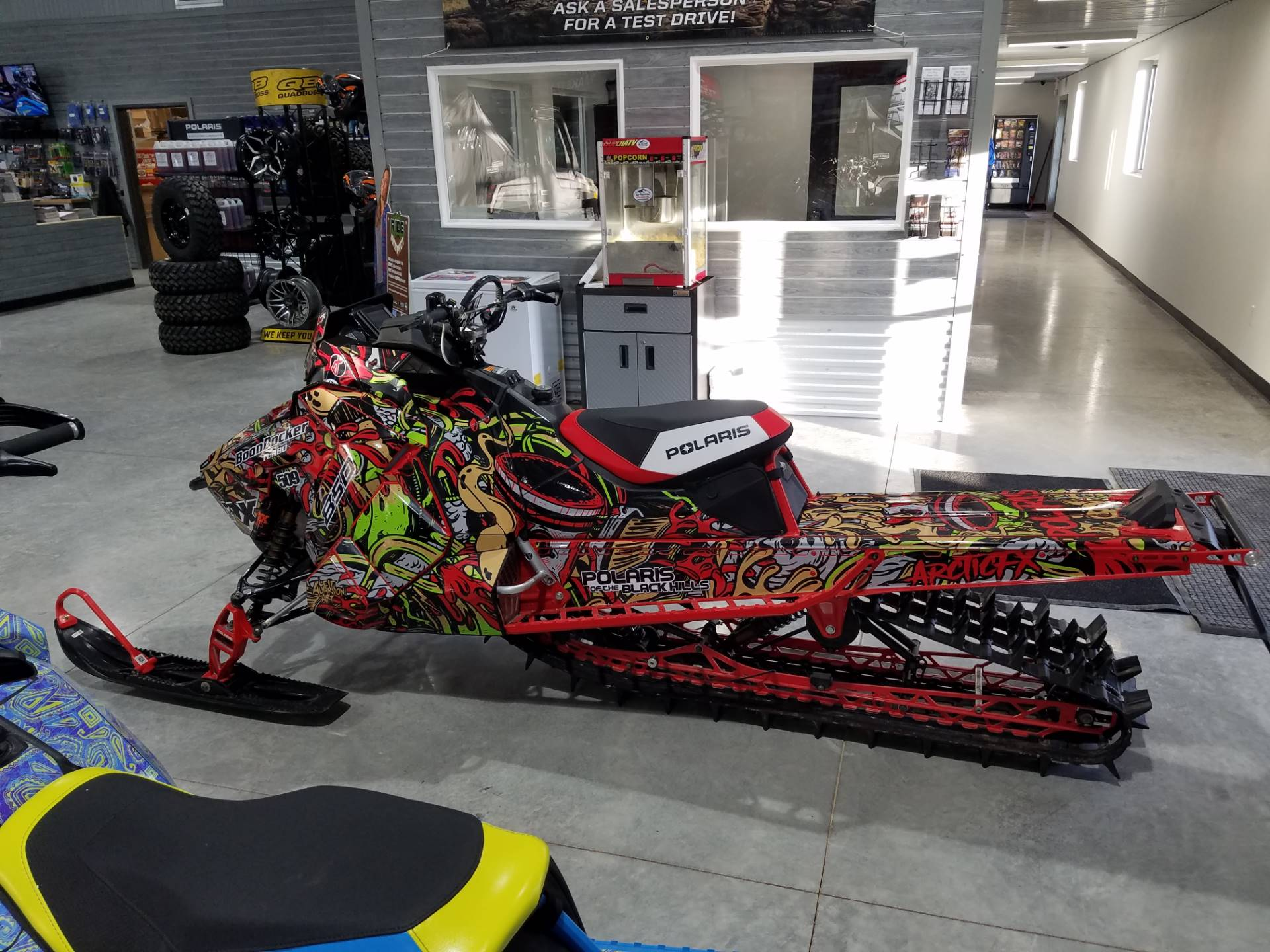 2019 Polaris 850 PRO-RMK 155 SnowCheck Select in Rapid City, South Dakota - Photo 1