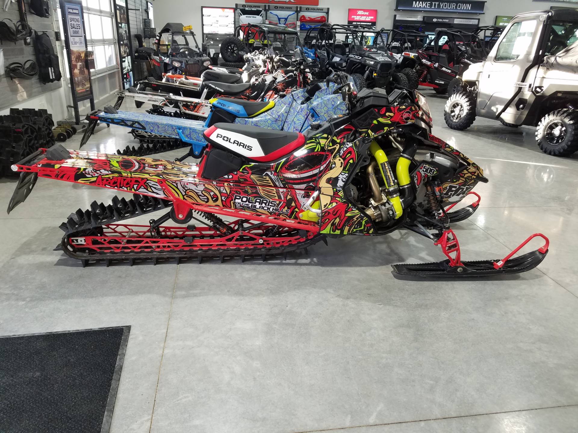 2019 Polaris 850 PRO-RMK 155 SnowCheck Select in Rapid City, South Dakota - Photo 2