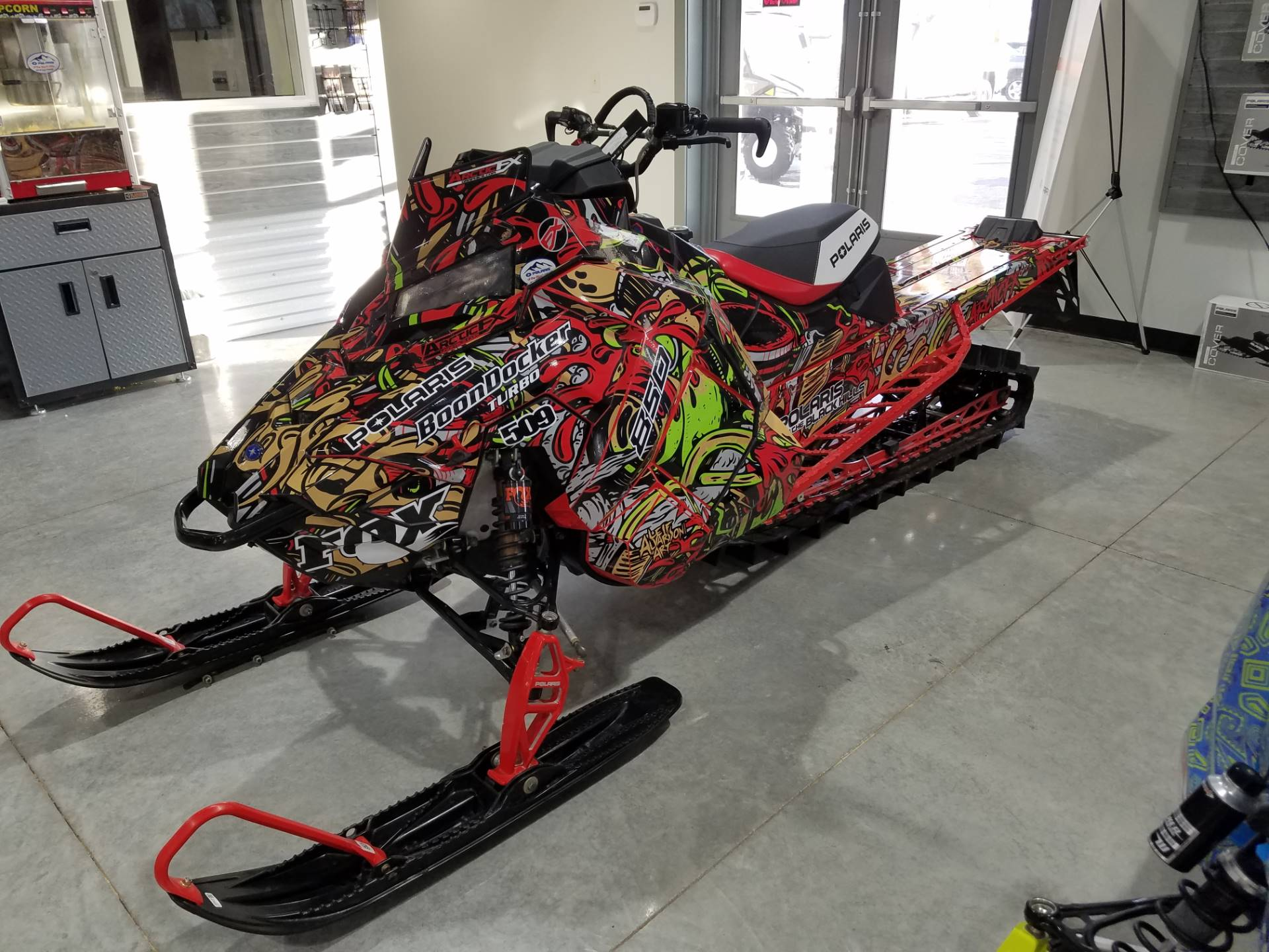 2019 Polaris 850 PRO-RMK 155 SnowCheck Select in Rapid City, South Dakota - Photo 3