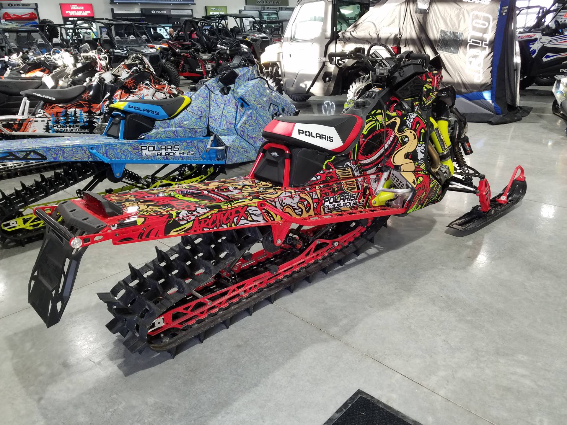 2019 Polaris 850 PRO-RMK 155 SnowCheck Select in Rapid City, South Dakota - Photo 5