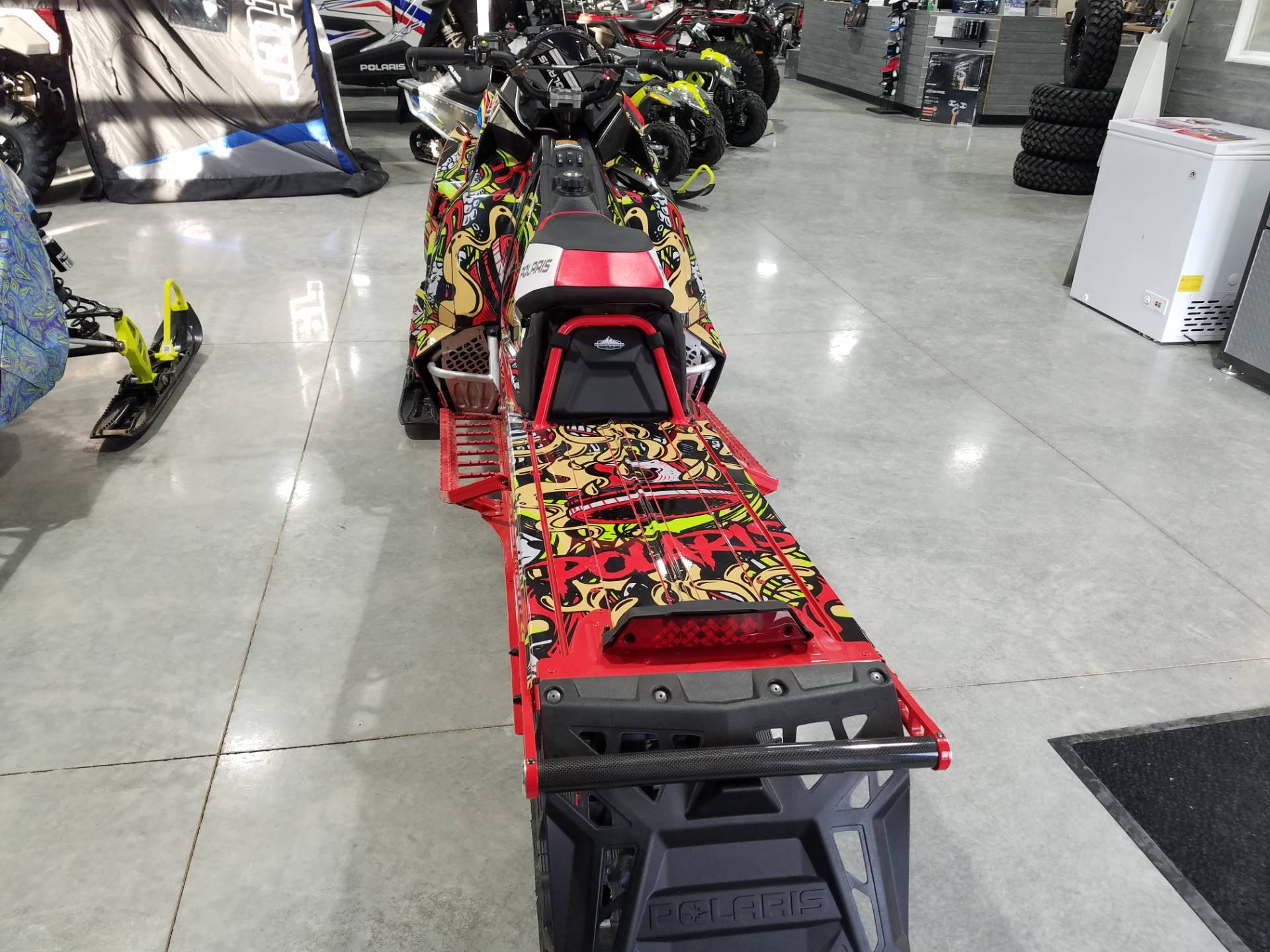 2019 Polaris 850 PRO-RMK 155 SnowCheck Select in Rapid City, South Dakota - Photo 12