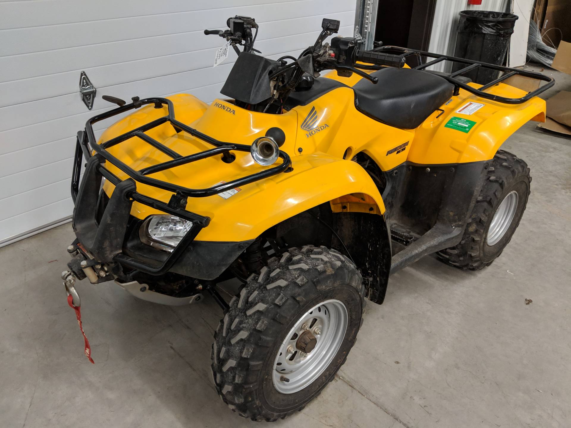 2007 Honda FourTrax Recon ES 6