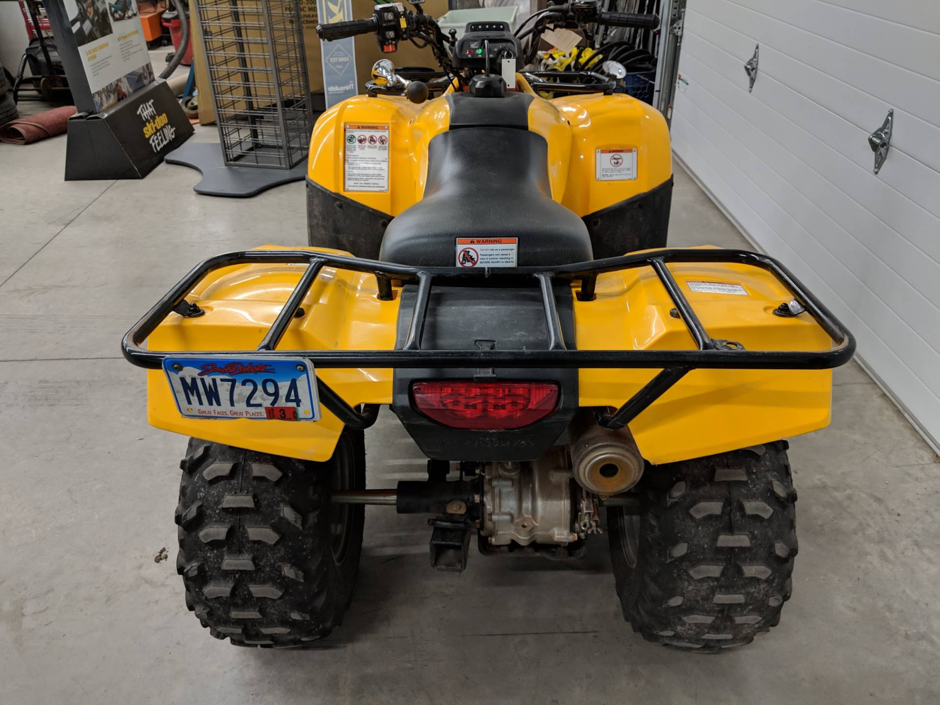 2007 Honda FourTrax Recon ES 4