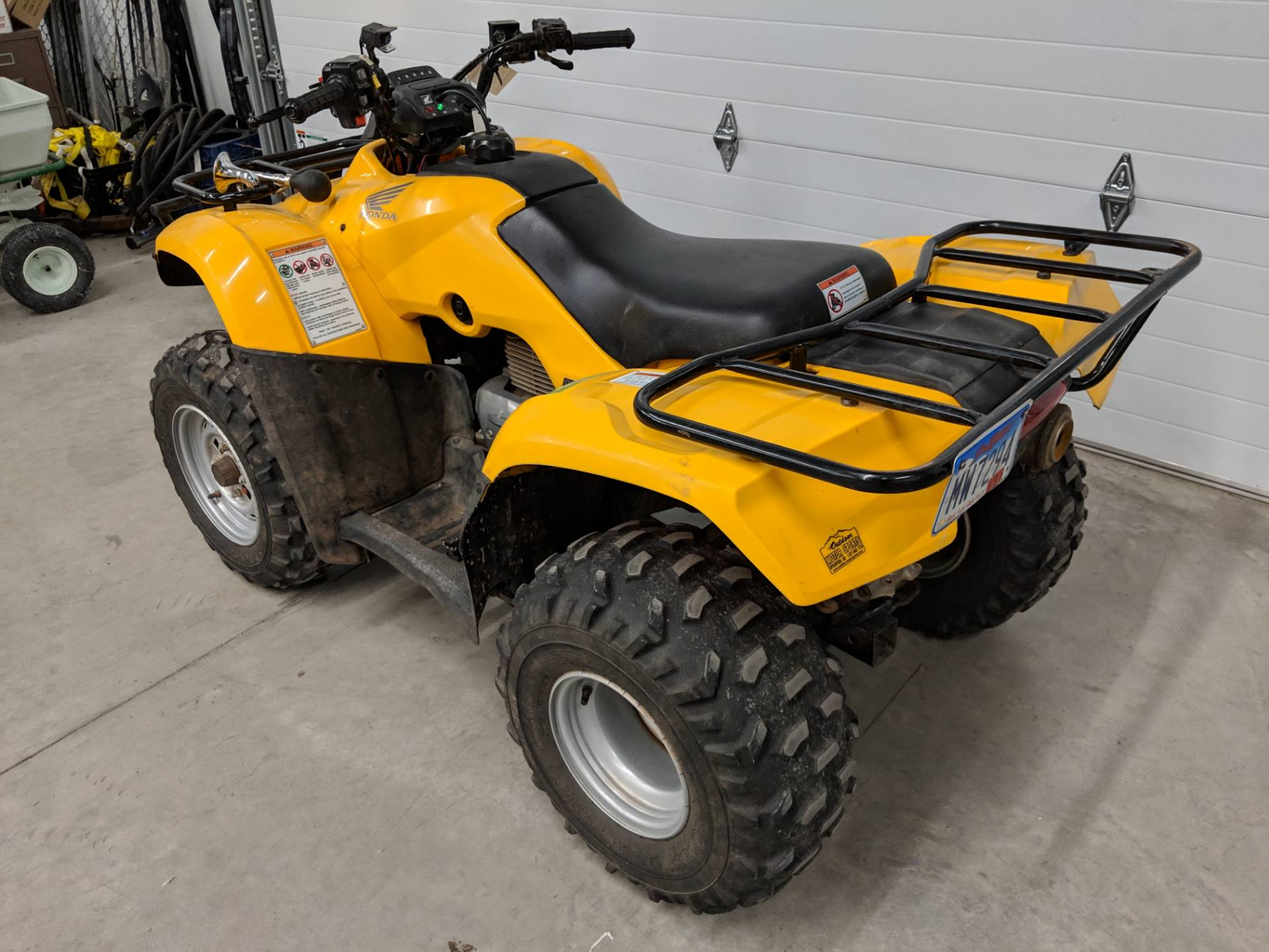 2007 Honda FourTrax Recon ES 8